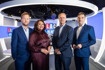 Global launches LBC News – 24-hour national rolling news radio station